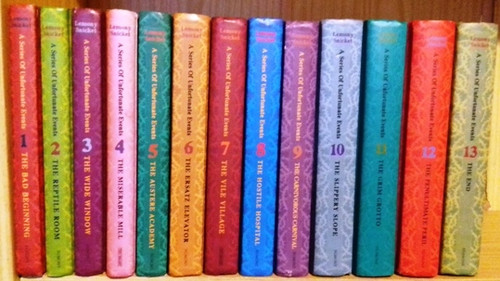 Snicket, Lemony / A Series of Unfortunate Events: (Complete 13 Book Set) (Hardback)