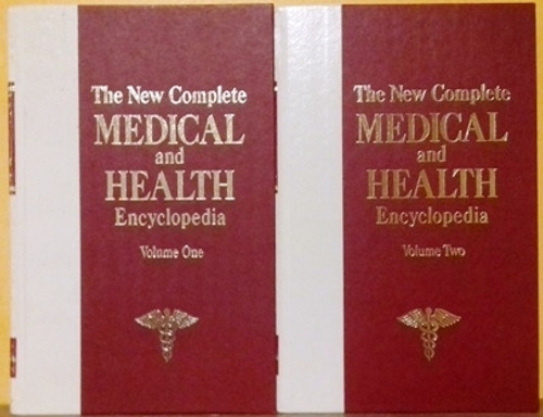 The New Complete Medical and Health Encyclopedia (Complete 4 Book Set)