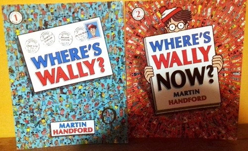 Where's Wally? (4 Book Collection)