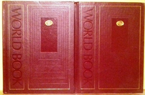 Thorndike Barnhart World Book Dictionary Red Spine (Complete 2 Book Set)