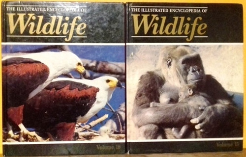 The Illustrated Encyclopedia of Wildlife (Incomplete 22 Book Set)