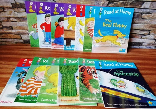 Roderick Hunt: Read at Home  (13 book Collection)