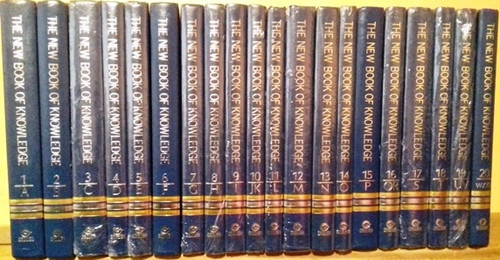 The New Book of Knowledge 2002 (Complete 20 Book Encyclopedia Set)
