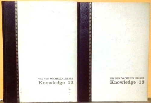 The New World Library Knowledge 1965 (Incomplete 10 Book Encyclopedia Set)