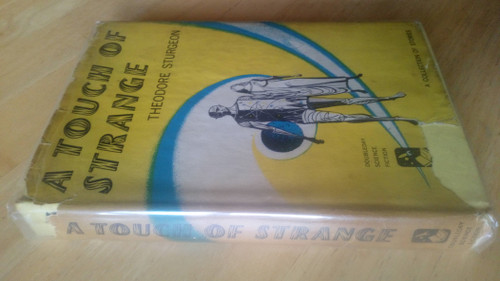 Sturgeon, Theodore - A Touch of Strange - Vintage Hardcover Short Stories - PB Science Fiction 1958