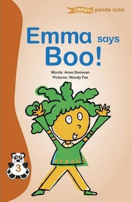 Donovan, Anna / Emma Says Boo ( O'Brien Press - Panda Cubs)