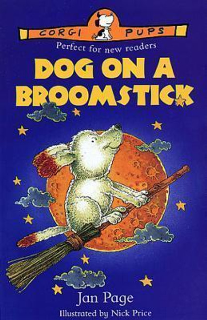 Page, Jan / DOG ON A BROOMSTICK