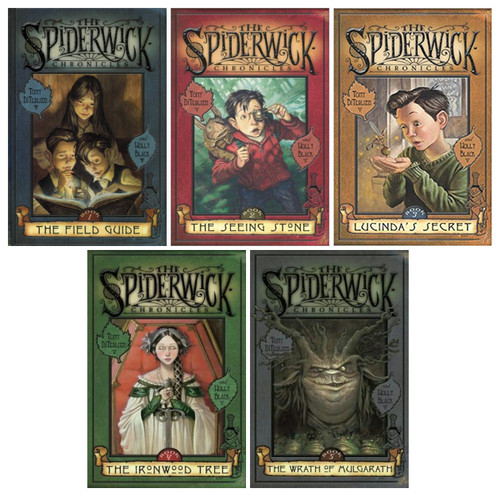 Tony Diterlizzi and Holly Black: The Spiderwick Chronicles (Complete 5 Book Hardback Set)