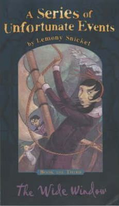 Snicket, Lemony / A Series of Unfortunate Events (Book 3) The Wide Window (Hardback)