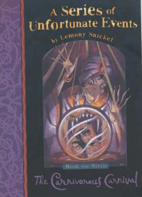 Snicket, Lemony / A Series of Unfortunate Events (Book 9) The Carnivorous Carnival (Hardback)