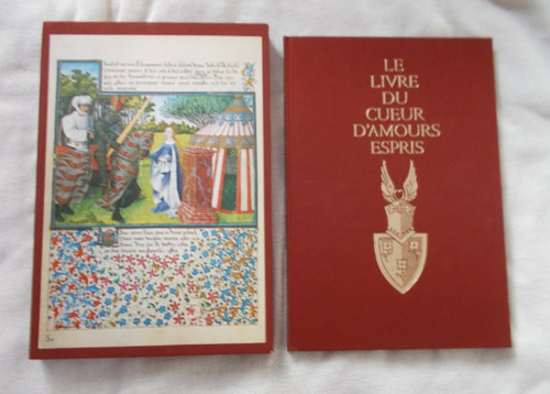 Unterkircher, F - Le Livre de Cueur D'Amours Espris - HB - Numbered Slipcased 1975  Number 1335/3000