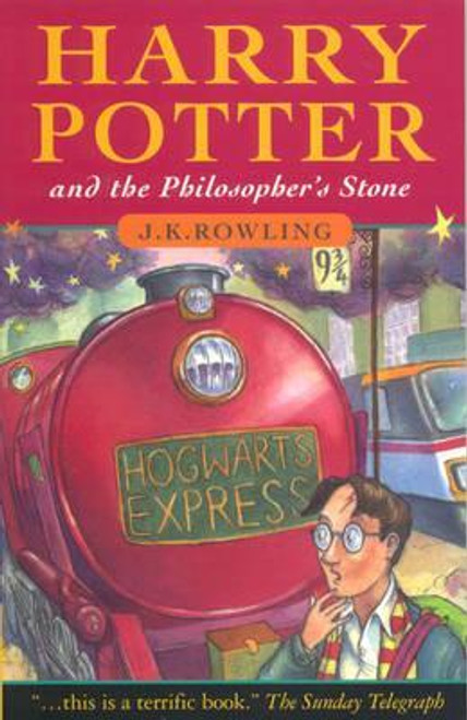 Rowling, J.K / Harry Potter and the Philosopher's Stone (Old Dumbledore on the cover) Illustrations Thomas Tylor