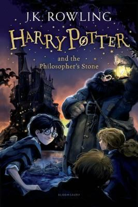 Rowling, J.K / Harry Potter and the Philosopher's Stone (Cover Illustrations Jonny Duddle)