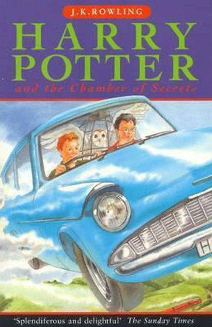 Rowling, J.K / Harry Potter and the Chamber of Secrets (Cover Illustration Cliff Wright)