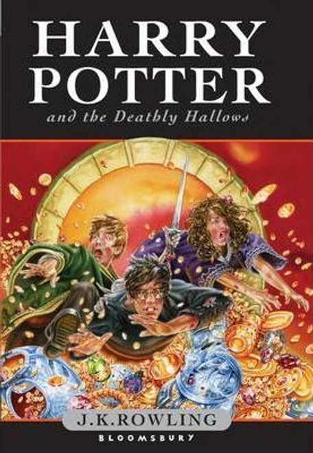 Rowling, J.K / Harry Potter and the Deathly Hallows (First Edition Hardback) (Cover Illustration Jason Cockroft)