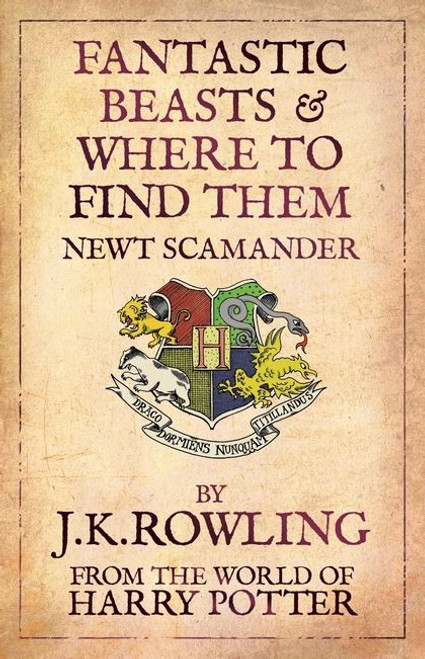 Rowling, J.K / Fantastic Beasts and Where to Find Them (Comic Relief Cover)