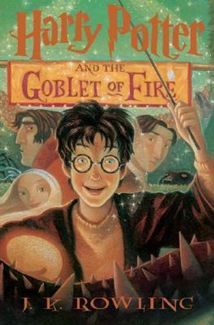 Rowling, J.K / Harry Potter and the Goblet of Fire (Large Hardback) (American Cover) Damaged Dust Jacket