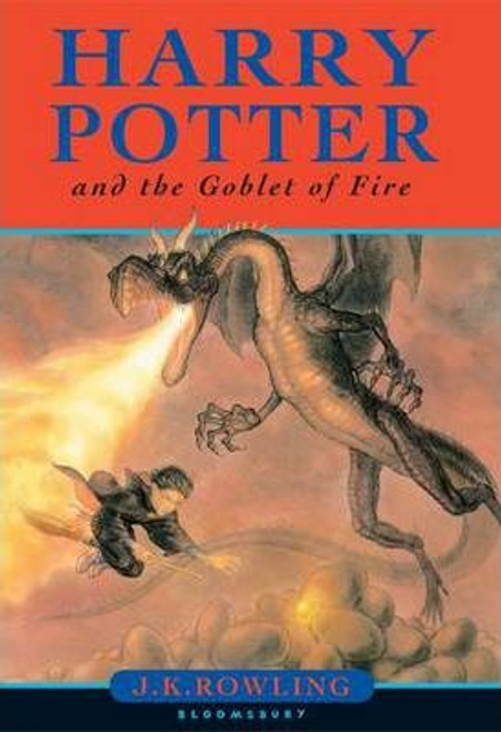 Rowling, J.K / Harry Potter and the Goblet of Fire (Wrong Name Typo page 503) (First Edition Hardback) (Cover Illustration Gies Greenfield)