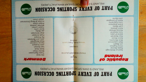 Republic of Ireland Football Programmes - Internationals 1979-1985 -  Lot of 16