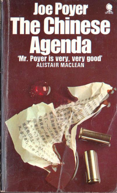 Joe Poyer / The Chinese Agenda (Vintage Paperback)