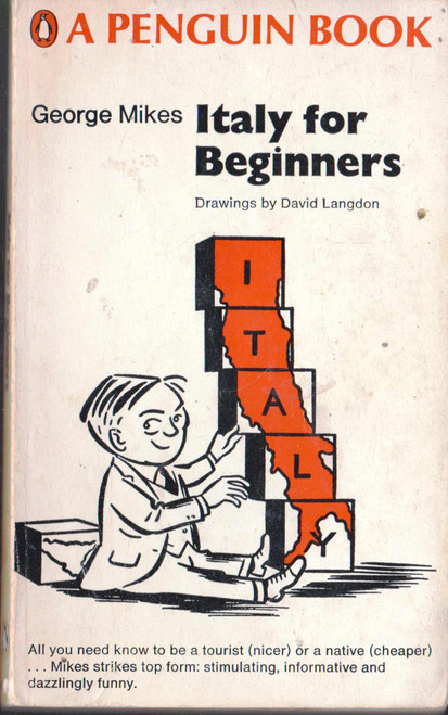 George Mikes / Italy for Beginners (Vintage Paperback)