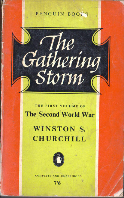 Winston S. Churchill / The Gathering Storm (Vintage Paperback)