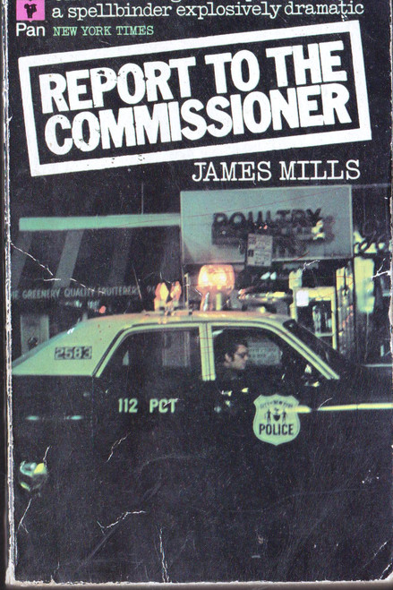 James Mills / Report to the Commissioner (Vintage Paperback)