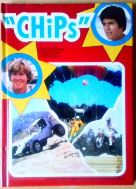 CHiPs - California Highway Patrol - Vintage Retro TV Series Annual 1982