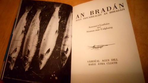 Ó Liatháin, Annraoi & Mac Ualghairg, Séamas - An Bradán agus Iascaireacht an Bhradáin - HB 1970 As Gaeilge