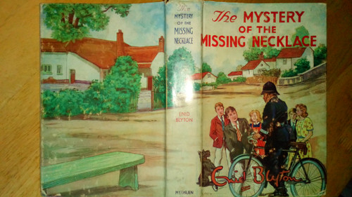Blyton, Enid - The Mystery of the Missing Necklace - HB in DJ Methuen 1964 - Five Find Outers