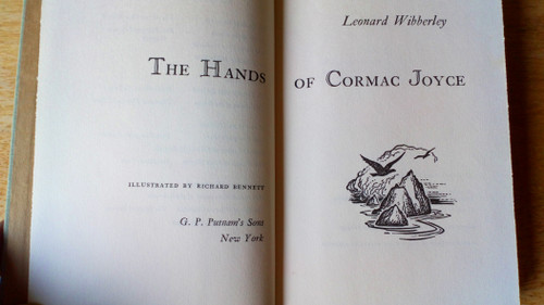 Wibberley, Leonard - The Hands of Cormac Joyce - HB Novel 1960 1st US Edition - Roundstone Conamara