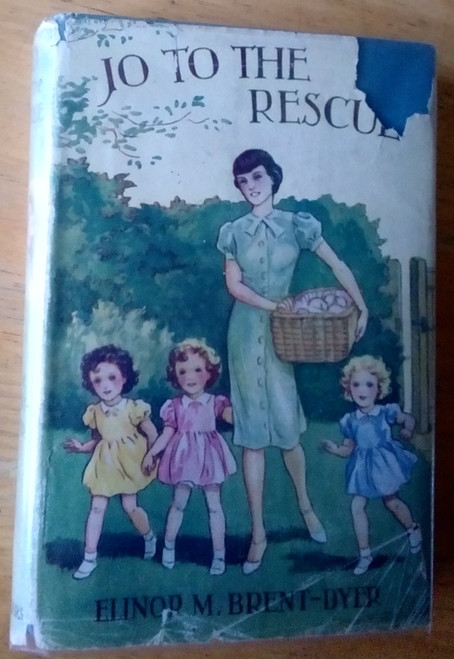 Brent-Dyer, Elinor M - Jo to the Rescue - Vintage HB Edition 1946