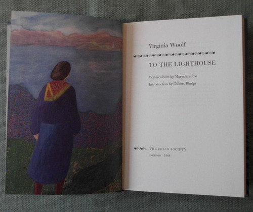 Woolf, Virginia - To the Lighthouse - HB Slipcased Illustrated - Folio Society Edition