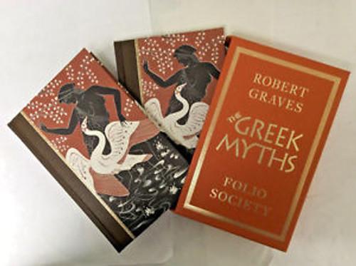 Graves, Robert - The Greek Myths - Folio Society 2 Volume Hardback Set Slipcased 1998