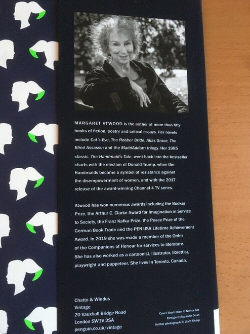 Atwood, Margaret - The Testaments - HB 1st Edition 2019 - BRAND NEW ( Booker Prize Winner 2019)
