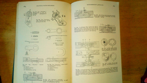 De Carle, Donald - Practical Watch Repairing - HB 1948 - Horology, Vintage Clockwork