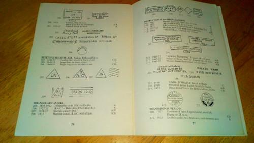 Kane, William - Catalogue of the Postal Makings of Dublin 1840-1922 PB  - Postal History Ireland 1981