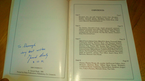 Healy, Gerald - The Hidden Excitement of Monaleen & Milford - Limerick - SIGNED Local History 1981
