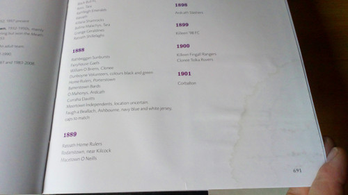 Gilligan, Jim & McLoughlin, Patsy - Black and Amber _ A History of the GAA in the parish of Dunshaughlin 1886-2014 - Meath -Sporting History