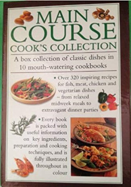 Main Course Cooks Collection in 10 cookbooks (10 Book Box Set)