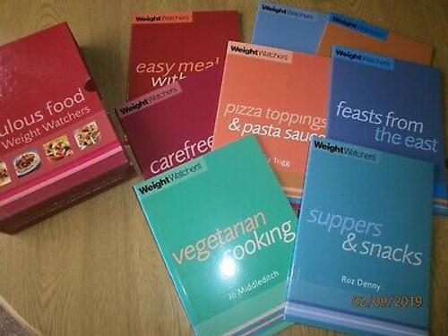 Weight Watchers Fabulous Food (8 Book Box Set)