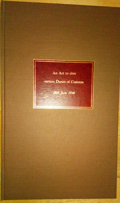C.A.P 9th & 10th Victoria - An Act to Alter Certain Duties of Commons - 26th June 1846 - House of Commons Act of British Parliament