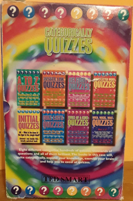 Categorically Quizzes (8 Book Box Set)