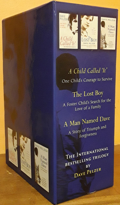 Dave Pelzer - A Child Called It,  The Lost Boy,  A Man called Dave(3 Book Box Set) (Hardback)