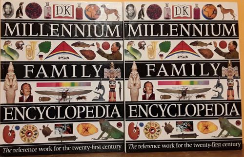 DK Millennium Family Encyclopedia 1997 (Complete 5 Book Set)