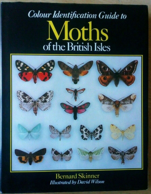 Skinner, Bernard - Colour Identification Guide to Moths of the British Isles - SIGNED Hardcover 1984