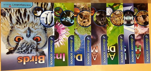 Discover Science (Irish Independent) (7 Book Collection)
