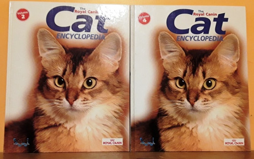 The Royal Canin Cat Encyclopedia (4 Book Collection)