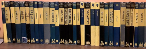 Vintage Teach Yourself Books (66 Book Collection)