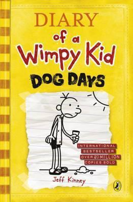 Kinney, Jeff / Diary of a Wimpy Kid: Dog Days (Wimpy Kid , Book 4 ) (Hardback)
